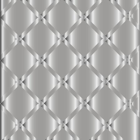 Luxury Metallic Silver Background Vector Vector