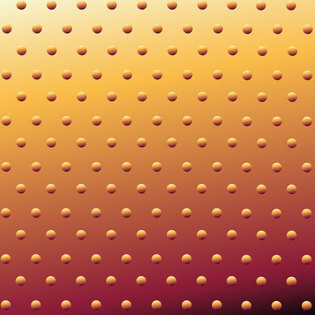 Metal Background Or Texture Of Brushed Gold Plate Vector