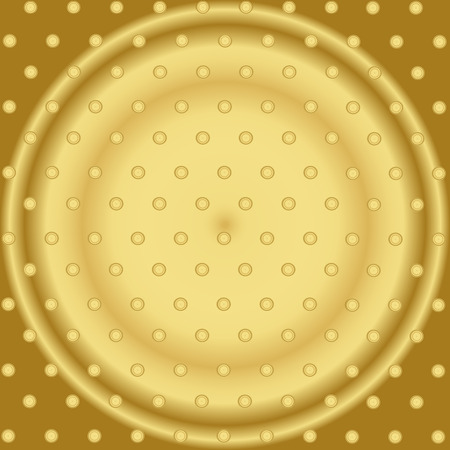 small paper: Pattern With Mixed Small Spots On Golden Color  Seamless Vector Background