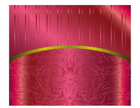 Vector Bordeaux Floral Luxury Background