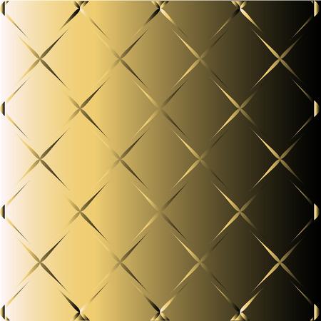 black metallic background: Abstract Golden Black Background With Metallic Illustration
