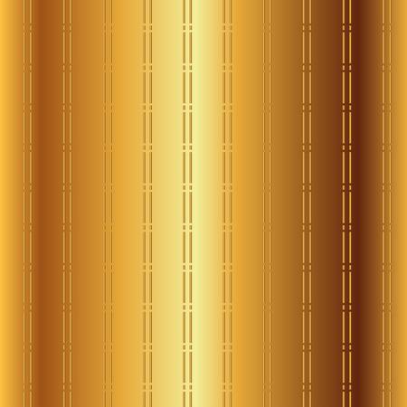 Golden Pattern Checkerboard Background Vector