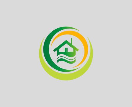 Houses symbol elements Vector
