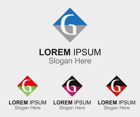 g: Letter G template design