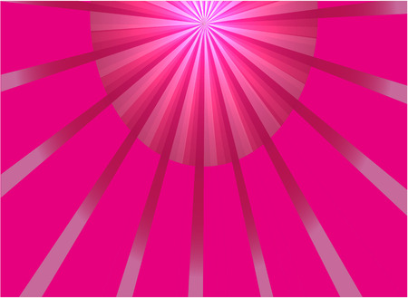 ray of light: Abstract pink ray light background vector