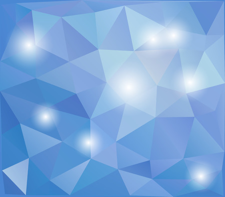 Abstract polygonal design background Vector