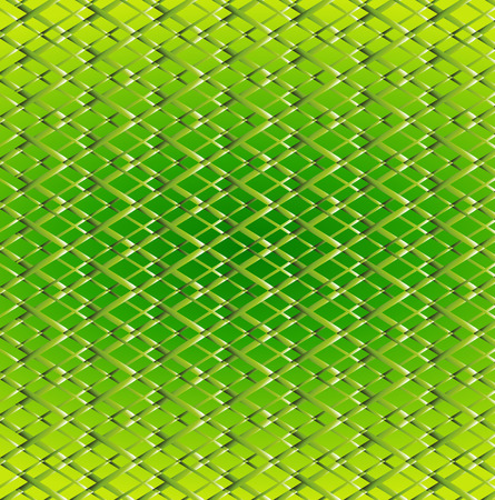 Abstract virtual tecnology green yellow background Vector