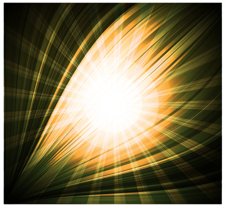 rays light: Abstract yellow background Beautiful rays of light