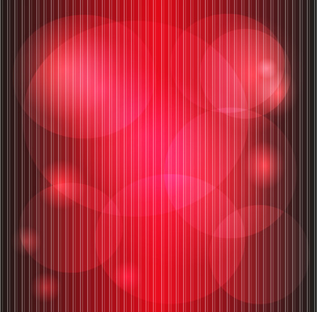 Background red stripes with blurred texture Vector