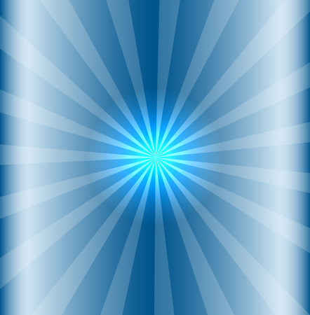 blinding: Blue background with lens flare