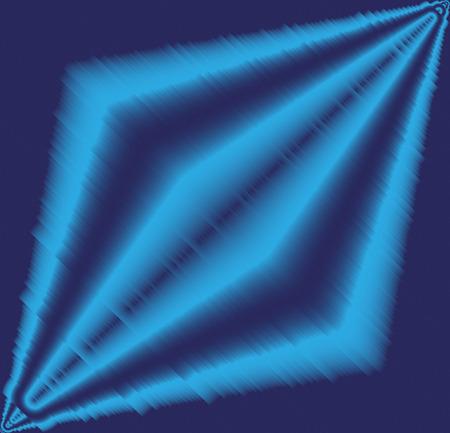 gran angular: Efecto de luz de fondo azul