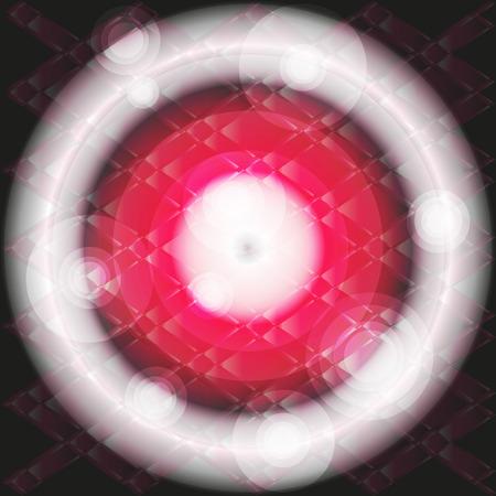 semaforo rosso: Cerchio di luce rossa di fondo del modello