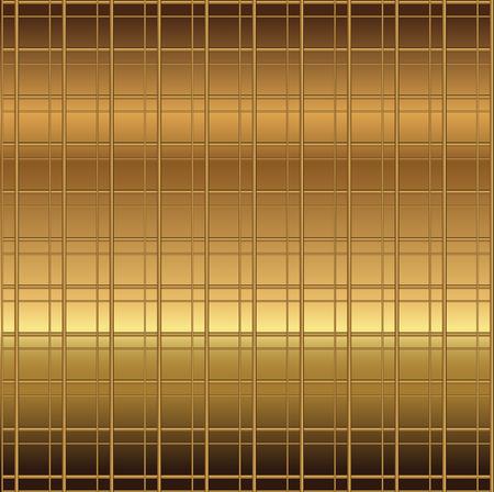 Copper grid texture background