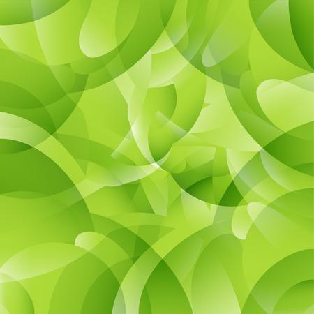 Geometric pattern green background