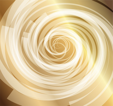 helical: Gold whirlpool background