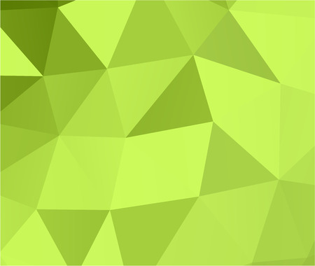 Green abstract geometric background 3d effect