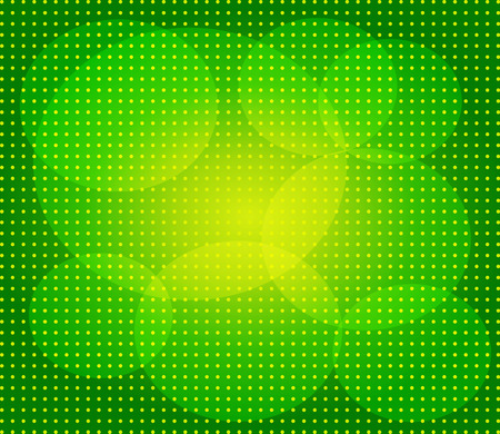 Green abstract technology background with seamless circle? Vector