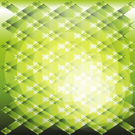 Green circle light gradient plaid texture Vector