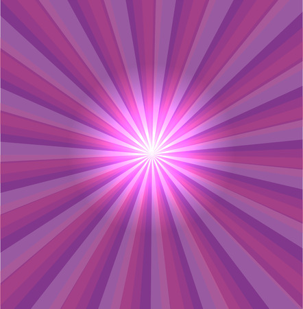 photographic effects: Purple background with lens flare Illustration