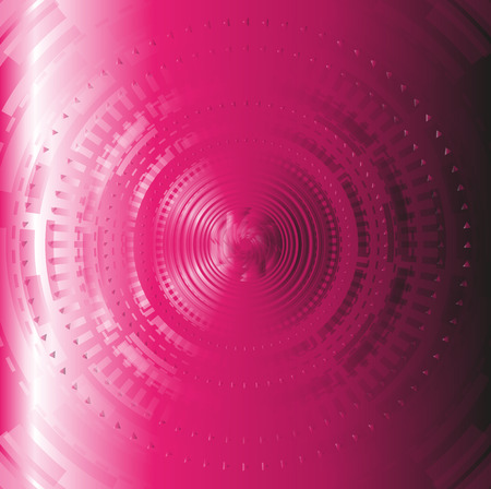 techical: Pink abstract techical background circle design