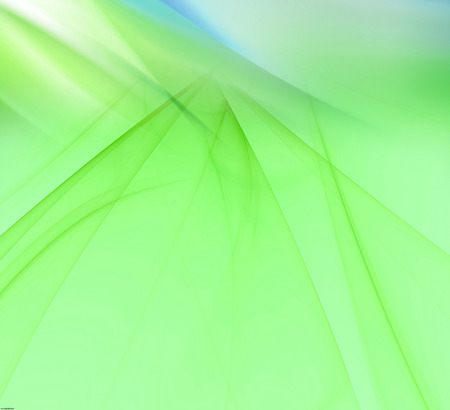 Light green background with rays light blur photo