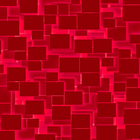 Red rectangular texture background photo