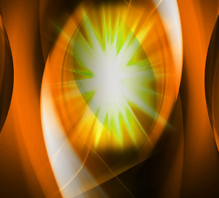 Star burst orange background photo