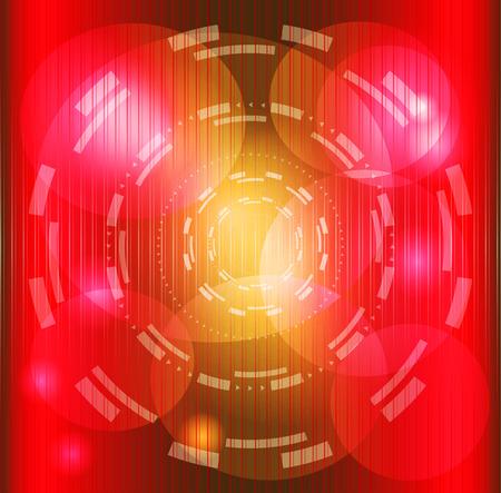 Abstract red swirl circle dark background photo