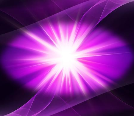Lighting Purple energy background burst generated image Reklamní fotografie