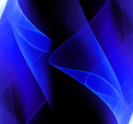 波抽象的な青色の背景 写真素材
