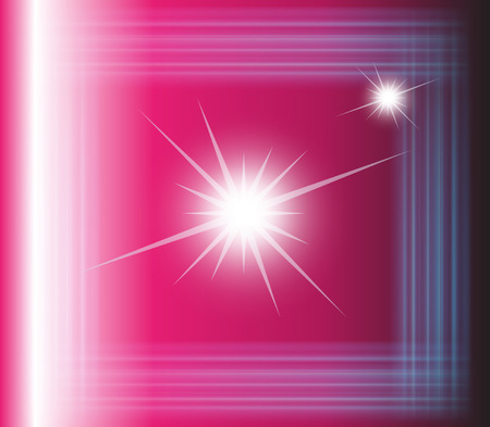 Abstract vector pink background with square Vector