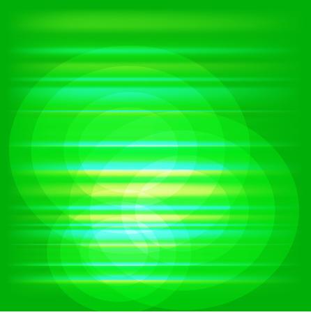Blur Green light Abstract vector Vector