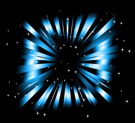 star light: Dark Blue background with ray and star light
