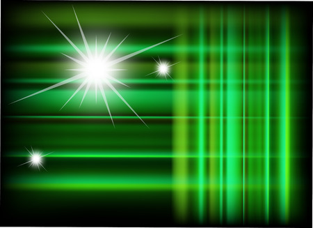 Green abstract vector background Vector