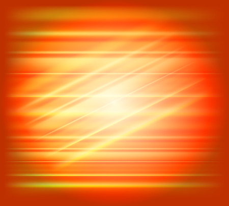 saturated color: Orange abstract background light speed Illustration