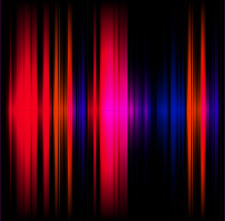 Abstract light effect music red and black background Banque d'images