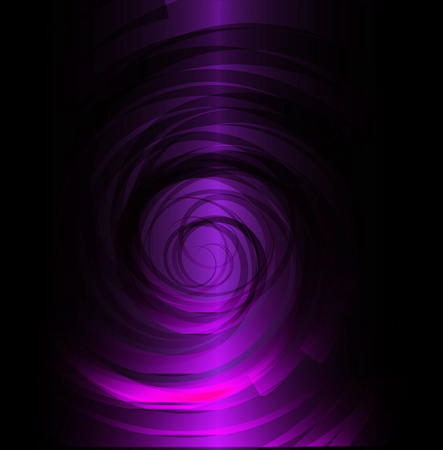 garish: Dark Purple spiral background