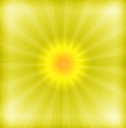photographic effects: Yellow background with lens flare Stock Photo