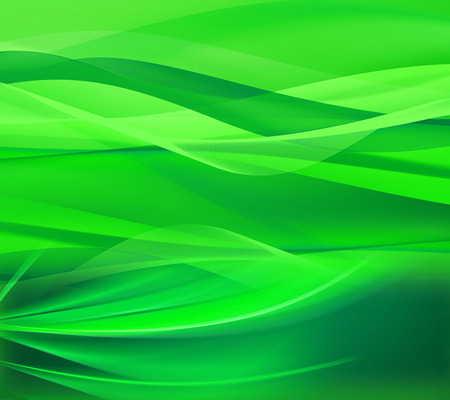 Green line wave background