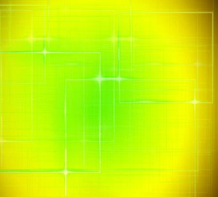 Rectangular texture techo yellow design