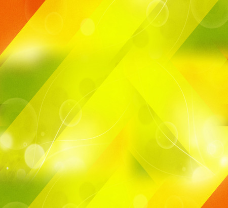 Yellow curve wave background photo