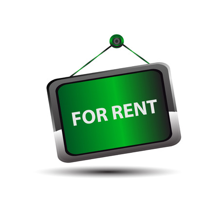 renting: For rent icon sign vector
