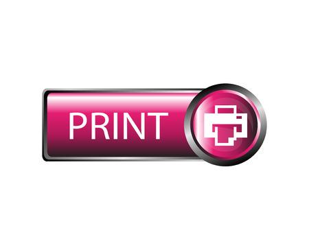 icono imprimir: Icono Imprimir Vectores