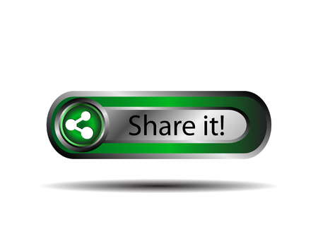 regular tetragon: Share icon button sign vector