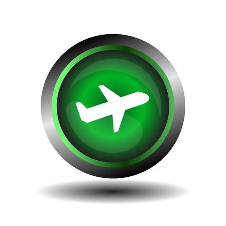 Vector airplane icon Vector