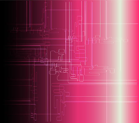 Abstract pink background technical vector photo