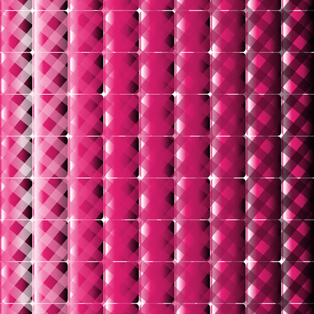swagger: Square and stripes vector pink background Stock Photo