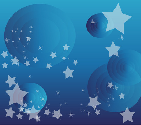 Vector star circle background design photo