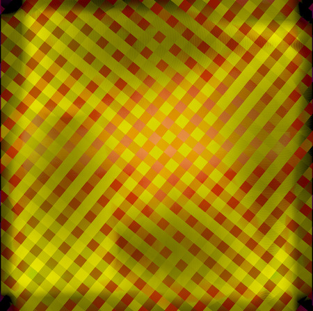 Pattern grid yellow photo