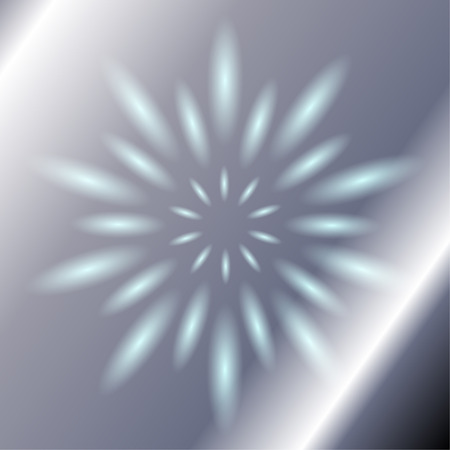 ray light: Ray circular blue light Vector silver Background